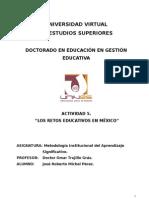 Retos Educativos en México