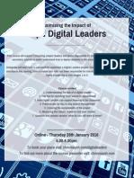 Maximising the Impact of Pupil Digital Leaders