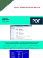 Manual de Formateo e Instalación de Un Sistema Operativo