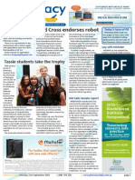 Pharmacy Daily for Mon 21 Sep 2015 - Gold Cross endorses robot dispenser, 5CPA consumer research, Tassie students take the trophy, Weekly Comment and much more