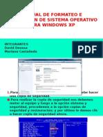 Manual de Formateo e Instalaciòn de Sistema Operativo Para Windows Xp