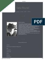 Ezra Pound POESIA