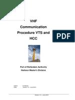 VTS Communication Procedure
