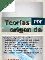 teorasdelorigendelavida-111125195315-phpapp01.ppt