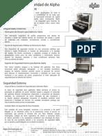 Soluciones de Seguridad de Alpha Para Gabinetes PWE-3 y 6-PWE
