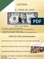 Aula sobre a crise de 1929