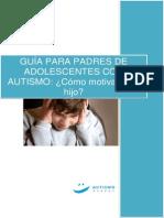 Guía Para Padres de Adolescentes Con Autismo