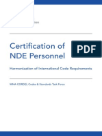 WNA CORDEL CSTF Report - Certification of NDE Personnel - Harmonization of International Code Requirements (2)