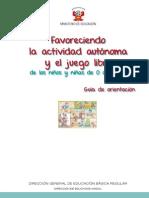 Guía de Actividad Autónoma
