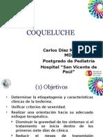 Carlos Díaz Md. PUCE Coqueluche Hospital SVP