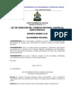 Ley de Creacion Del Consejo Nacional Contra El Narcotrafico (Actualizada-07) (1)