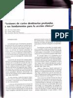 Moncada G y Urzúa I. Cariología Clínica-Cap7,2008