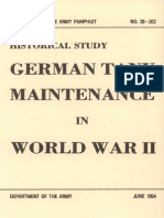 German Tank Maintenance