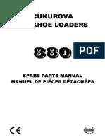 Spare Parts Manual cukorova880