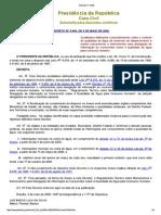 Decreto Nº 5440 2005 Controle de Qualidade Da Água Em Sistemas de Abastecimento