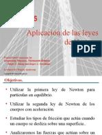 Apl. de Las Leyes de Newton y Fricción