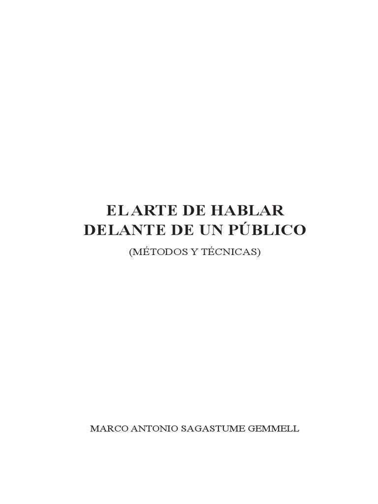 Como habalr en publico de Marco Ant Sagastume.pdf