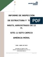 Informe de Inspeccion Estructural - Capeco