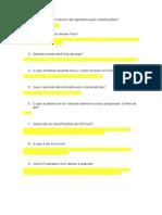 Ed Física - Futsal (Perguntas)