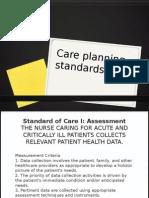 Care Planning Standards