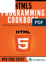 HTML5 Programming Cookbook