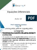 Sistemas Lineares 2 EDO (Atualizado)