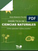 Didáctica de Las Ciencias Naturales ¿Cómo Aprender ¿Cómo Enseñar Reciente