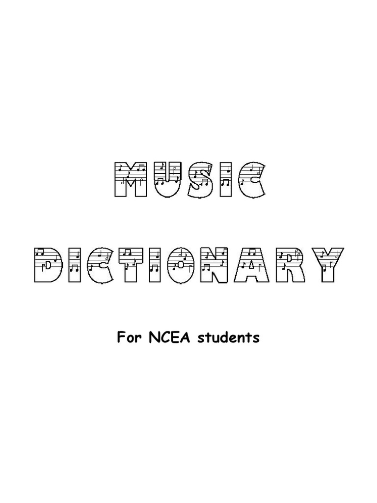 Music Dictionary   Mode Music   Scale Music