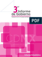 II Informe de Gobierno DF Estadístico