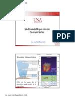 Modelos de Dispersion de Contaminantes