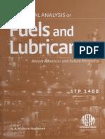 Libro ASTM - Análisis Elemental de Los Combustibles y Lubricantes (Inglés)