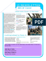end of term 3 newsletter
