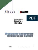 Manual de Ensayes de Mecánica de Suelos