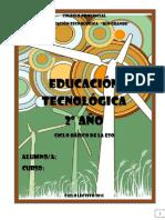 Cuadernillo 2doeso Educación Tecnológica 2015