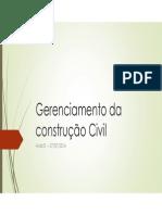 01 Aula Gerenciamento Da Construção Civil 27072015 [Modo de Compatibilidade]