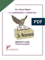 Miguel, Marta - Antroposofia Y Medicina