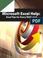 Excel Help Tips