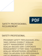 Safety Profesional Requirement R1