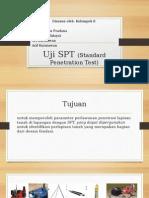 Uji SPT (Standard Penetration Test)