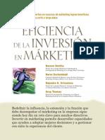 La Eficiencia de La Inversión en Marketing