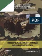 EB20-MC-10.211 - Processo de Planejamento e Condução Das Operações Terrestres
