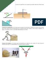 TIPOS DE FUERZAS