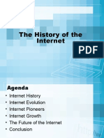the history of the internet presentation