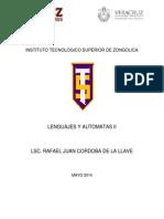 Antología Lenguajes Y Autómatas