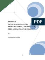 Contoh Proposal Klinik Fisioterapi Kecantikan