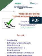 (F) Validación Del Lavado, Test de Bioluminiscencia (1)