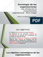 Los Objetivos de Los Sistemas Organizacionales