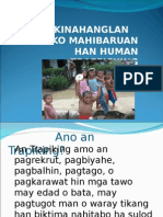 An Balaud Kontra Trapiking (Waray Version)