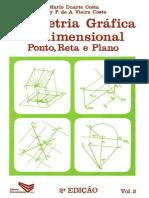 Geometria Gráfica Tridimensional Vol 2 - Mario Duarte e Alcy Paes
