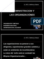 16. Administracion y Organizaciones